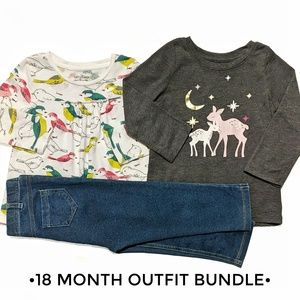 18 Month Toddler Outfit Bundle | GAP Jumping Beans